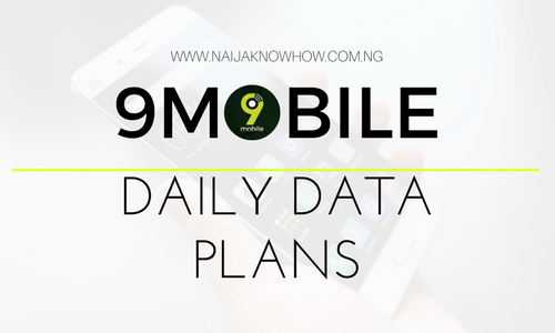 9MOBILE DAILY DATA PLANS