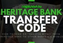 HERITAGE BANK TRANSFER CODE