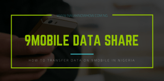 How to share data on 9Mobile in Nigeria