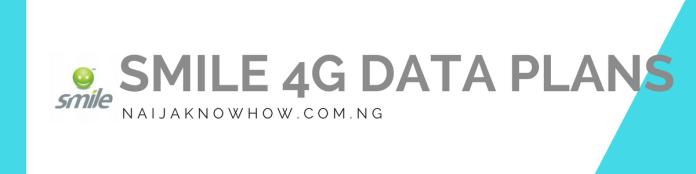 SMILE 4G DATA PLANS