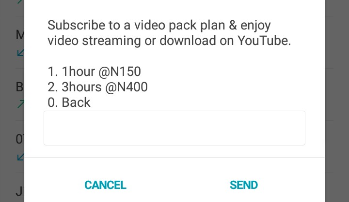 MTN YouTube Data Plans and Subscription Codes ⋆ Naijaknowhow