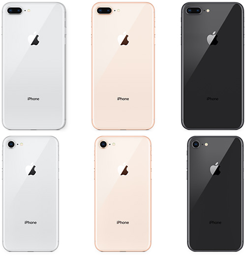 apple iphone 8 colors