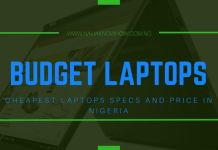 Cheapest Laptops In Nigeria, Key Specs, Prices & Where To Buy