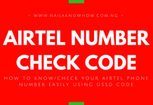 HOW TO KNOW OR CHECK AIRTEL NUMBER EASILY USING USSD CODE