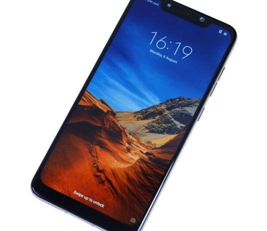 Xiaomi Pocophone F1 Front