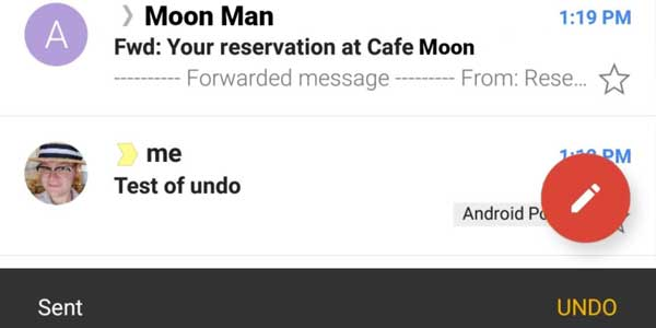 gmail undo sent email feature