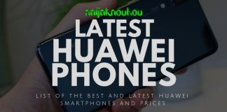 latest huawei phones