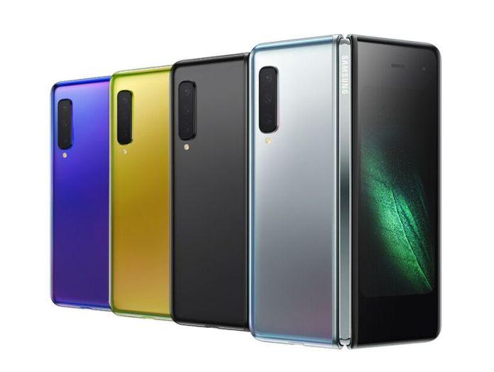Samsung Galaxy Fold colours
