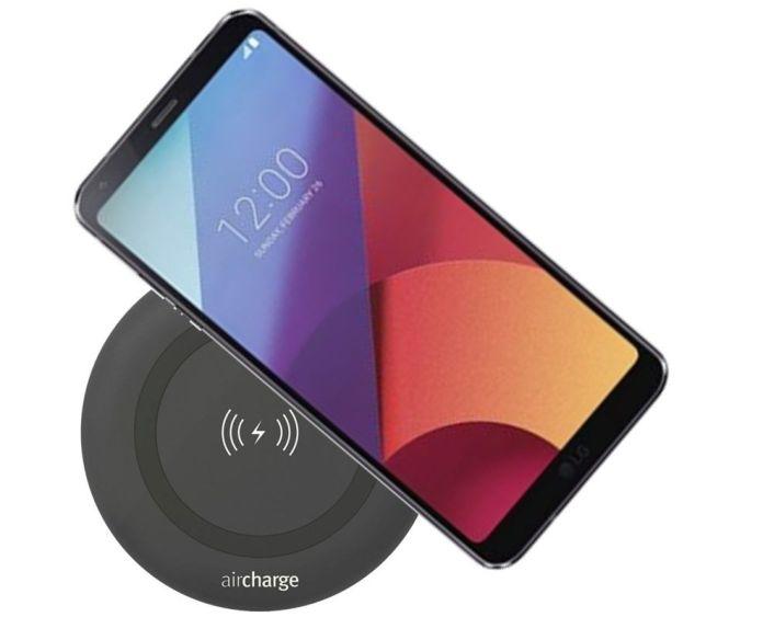 LG G6 wireless charging