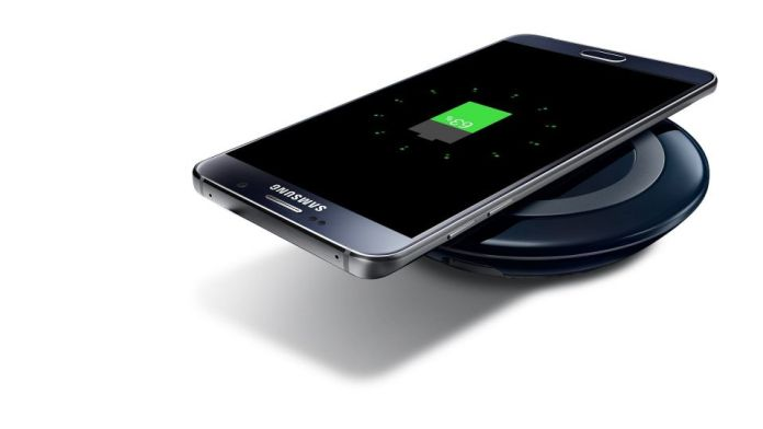 Samsung galaxy note 5 wireless charging