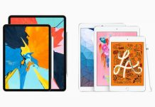 iPad Air 2019 and new iPad mini