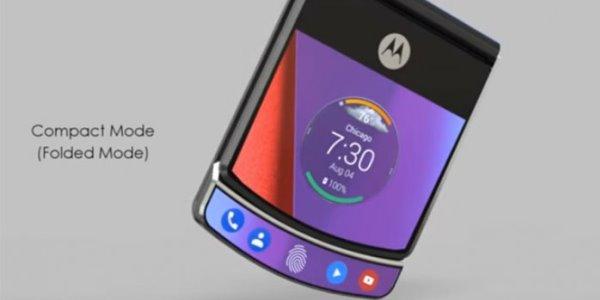 motorola folding screen smartphone