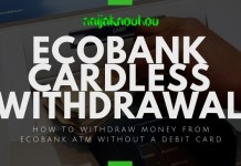 ecobank cardless withdrawal