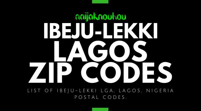 ibeju-lekki lagos zip codes