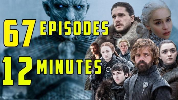 Game of Thrones recap in 12 minutes