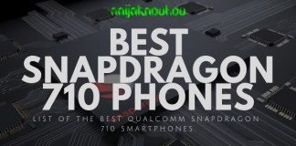 Qualcomm snapdragon 710 phones