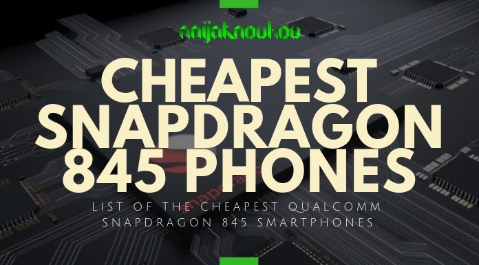 cheap snapdragon 845 phones