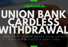 union bank cardless withdrawal