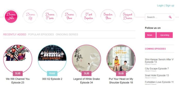 download Korean drama via Ondramanice