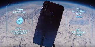 redmi note 7 sent to space