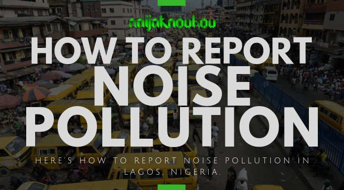 How to Report Noise Pollution in Lagos, Nigeria