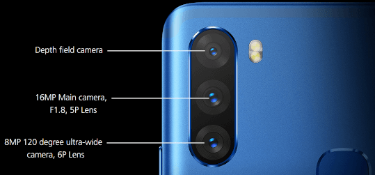 Infinix NOTE 6 Camera