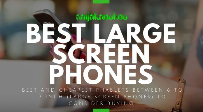 large screen phones