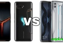 Asus ROG Phone 2 vs Xiaomi Black Shark 2 Pro