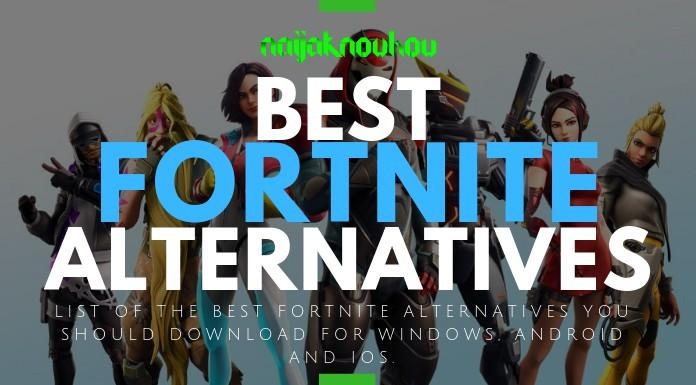 List of the Best Fortnite Alternatives