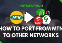 how to port from mtn to other networks