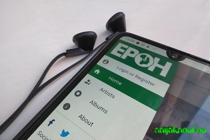 epoh music app