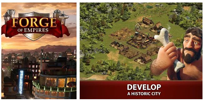 Forge of Empires - best building game