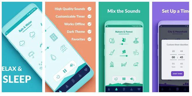 Sleepo - android app for healthy sleep
