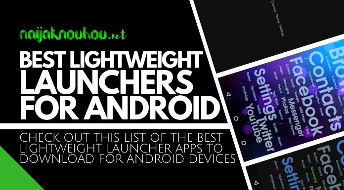 best lightweight launchers for android