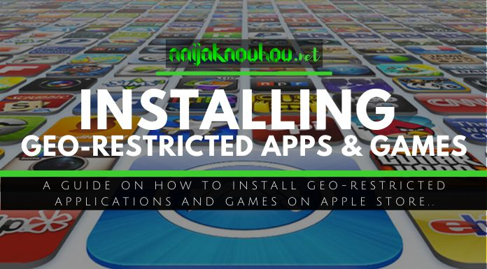 installing georestricted apps games