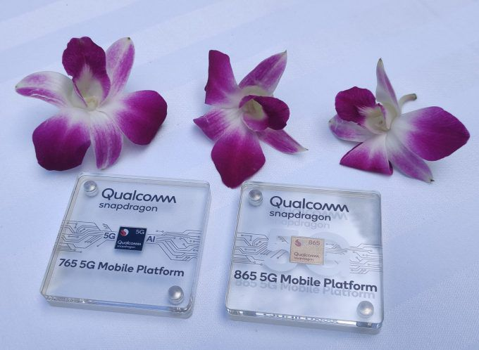 qualcomm snapdragon 865 and 765