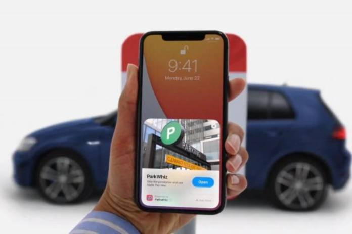 Clips App on iOS 14