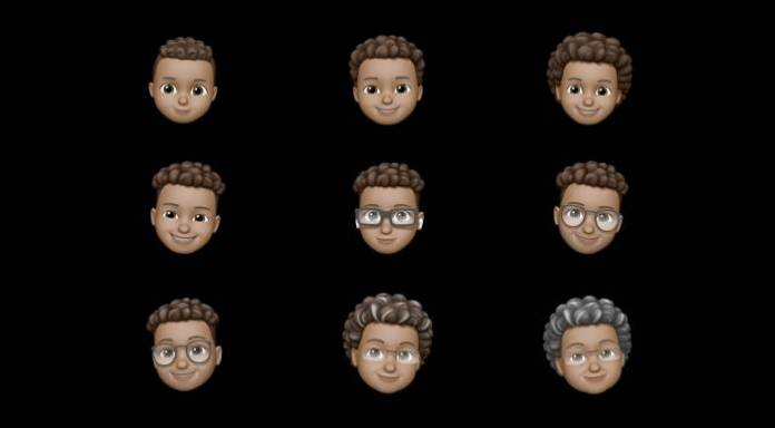 New Memoji feature on iOS 14
