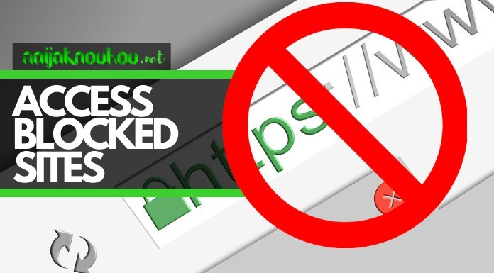 how to open and access blocked sites