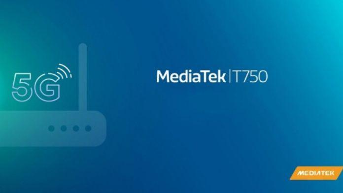 mediatek t750 5g chipset