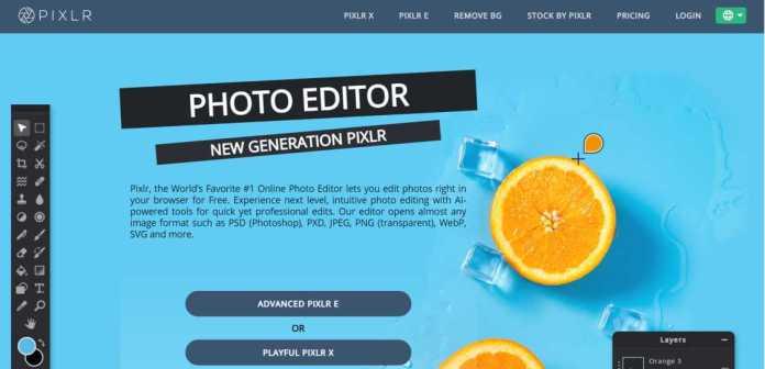 Pixlr – Online Photo Editor
