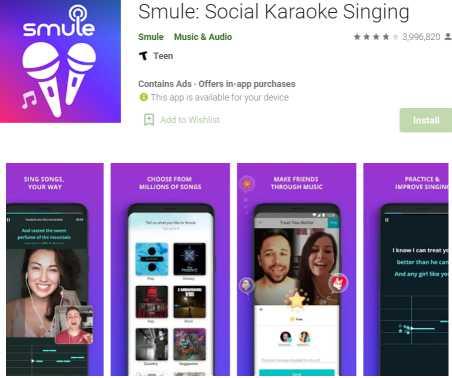 Smule Social Karaoke Singing