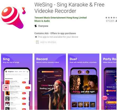 WeSing - Sing Karaoke and Free Videoke Recorder
