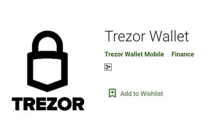 trezor fake crypto app