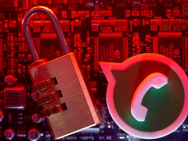WhatsApp illustration security
