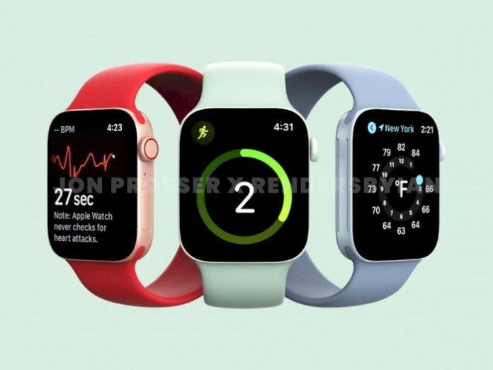 7th generation Apple Watch render