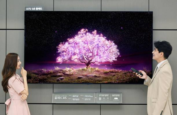 LG 83-inch OLED TV