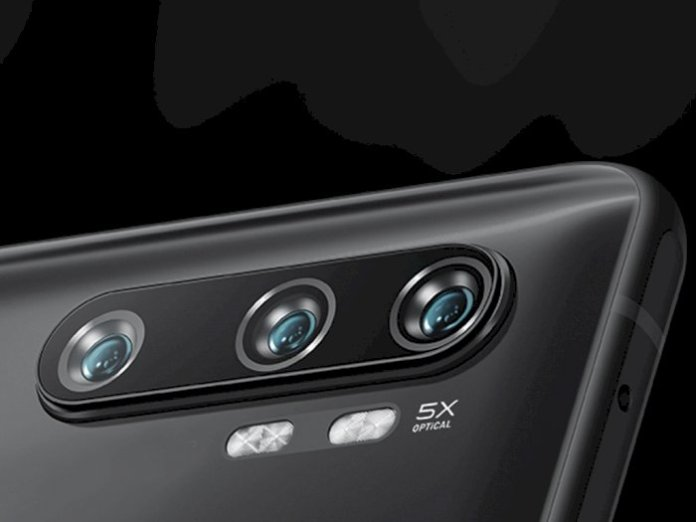 Rear view of a smartphone made by Xiaomi