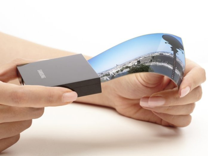 Samsung flexible display technology