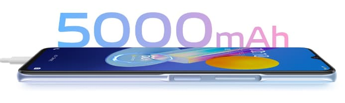 Vivo Y52 5G with 5000mah battery